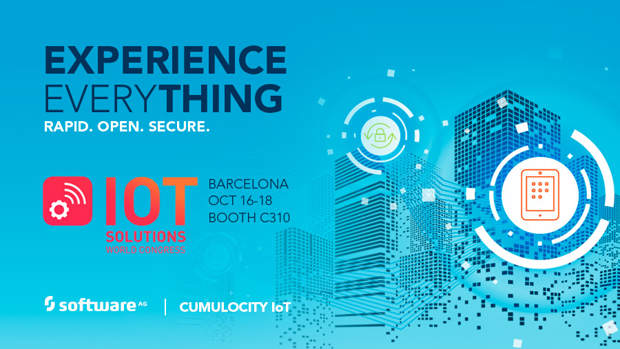 Cumulocity IoT by Software AG @ IoT Solutions World Congress, Barcelona